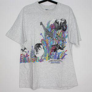 VTG San Diego Zoo Animal Park T-Shirt N231